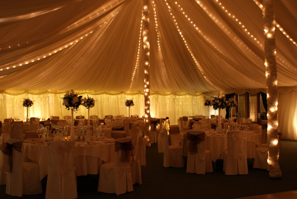 Gold marquee night