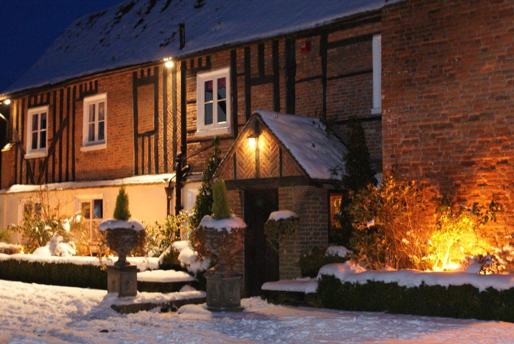 Christmas Winter Entrance