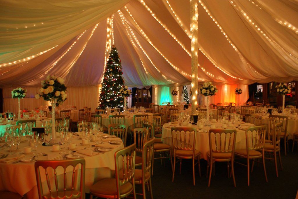 Christmas marquee