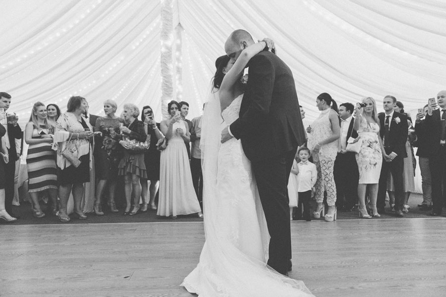 dancing at essex wedding venue