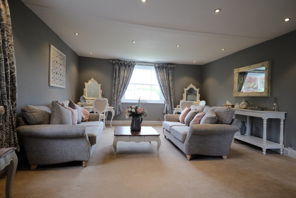 Bridal Suite with Natural Lighting at Wedding venue Chelmsford