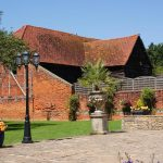 Barn over wall daytime wedding venue essex