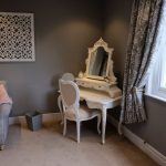 Bridal Suite with Natural Lighting Makeup Table