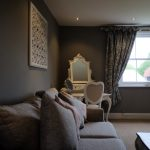 Bridal Suite with Natural Lighting Sofa